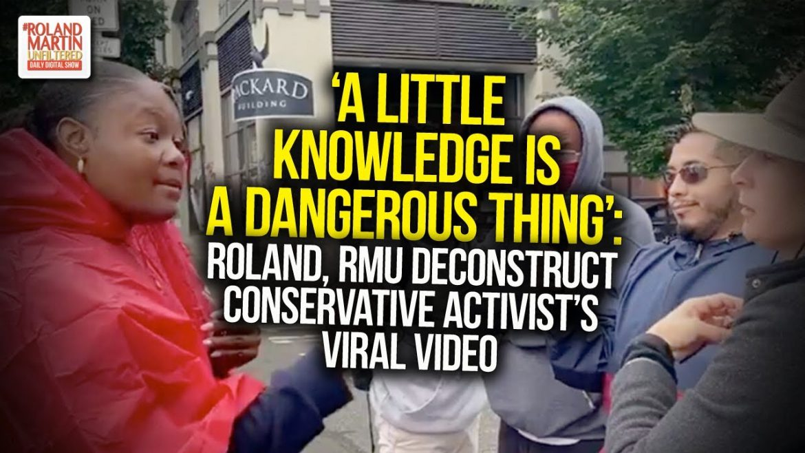 A Little Knowledge Is A Dangerous Thing: Roland, RMU Deconstruct Conservative Activist's Viral Video