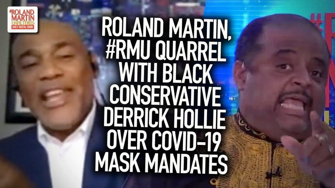 Roland, #RMU Quarrel With Black Conservative Derrick Hollie Over COVID-19 Mask Mandates