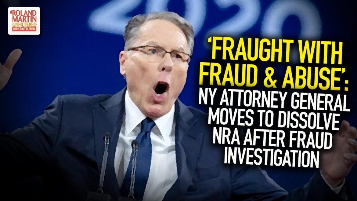 'Fraught With Fraud & Abuse': NY Attorney General Moves To Dissolve NRA After Fraud Investigation
