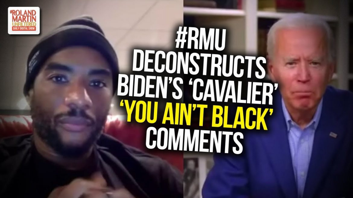 #RMU deconstructs Biden's 'cavalier' 'you ain't Black' comments; Roland rumbles with Paris Dennard